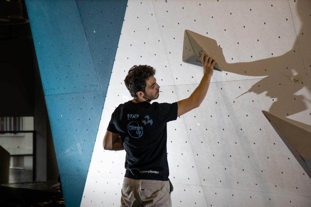La passion de l'ouverture dans les salles Climb Up