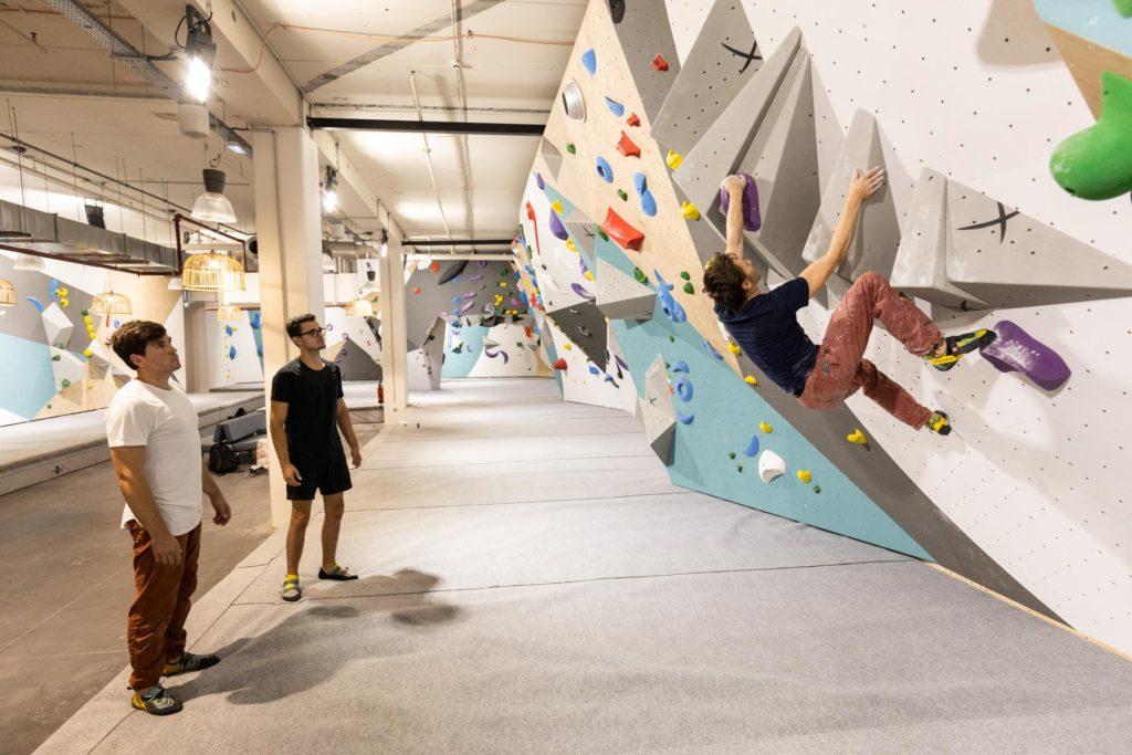 tapis tyyny recyclé éco-responsable à Climb Up Lille centre